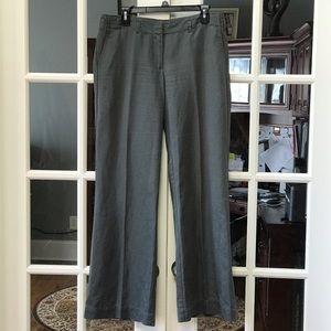 J. Crew City Fit Wide Leg Pants